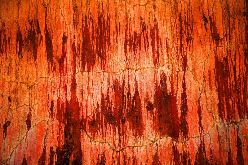 Wall outside of Agave Oven royalty free stock image