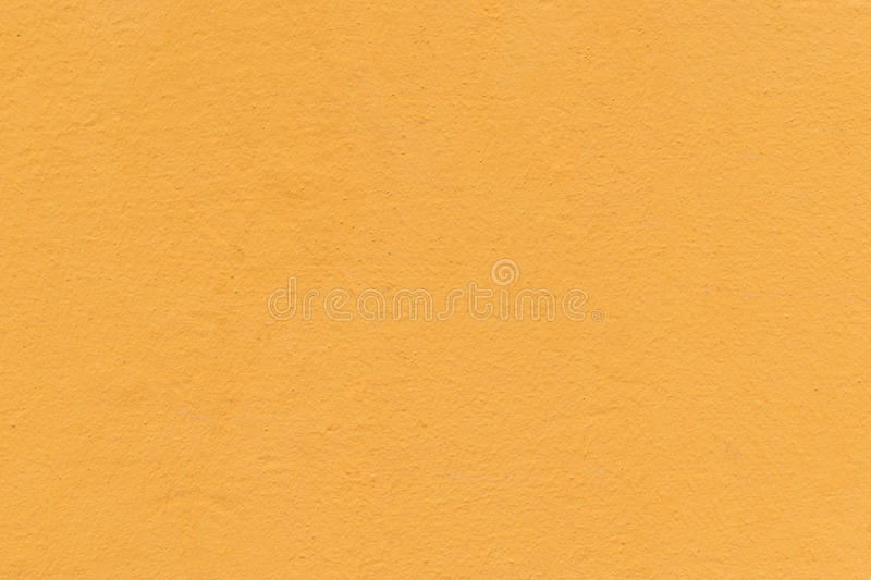 The Wall, Painted With A Paint In Orange Or Apricot Color. Stock ...