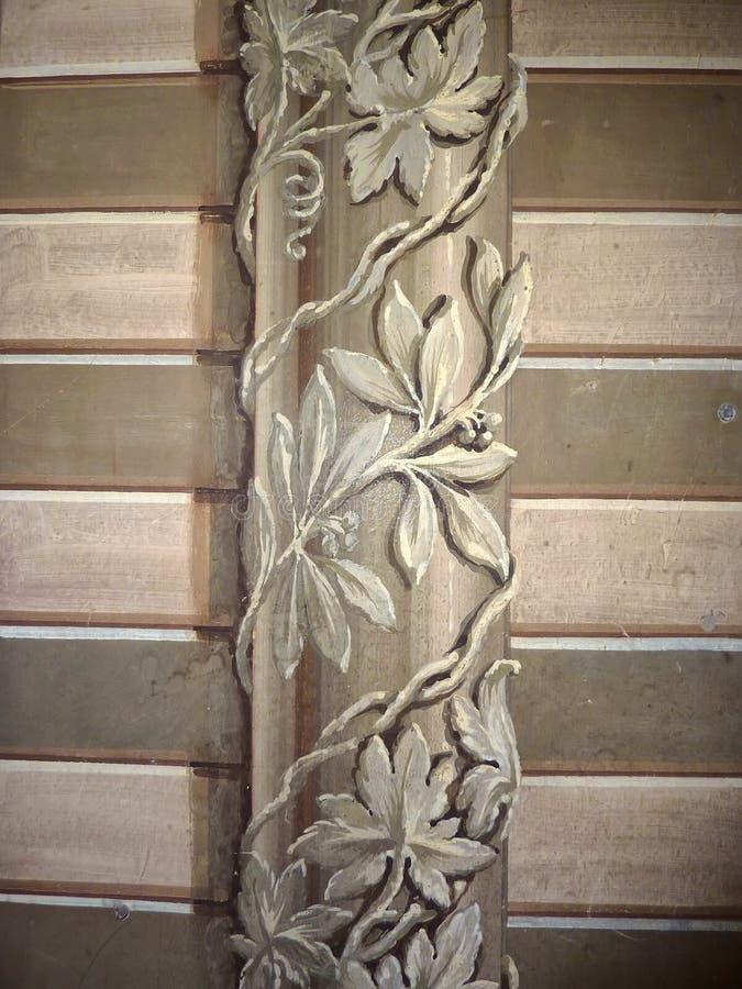 Wall painting Italian Chapel Orkney stock image