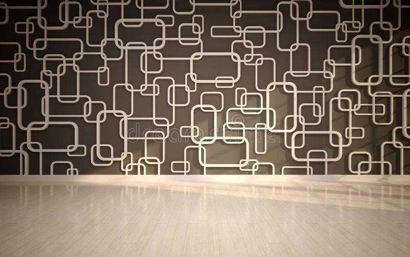 Download Wall Panels Used As Background. Stock Illustration - Image: 25953631