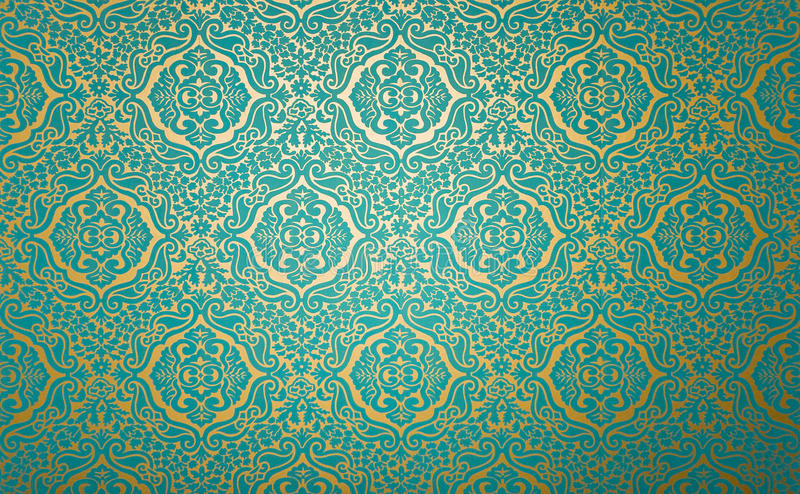 Download Wall Paper With Fabric Pattern Stock Image - Image: 10960831