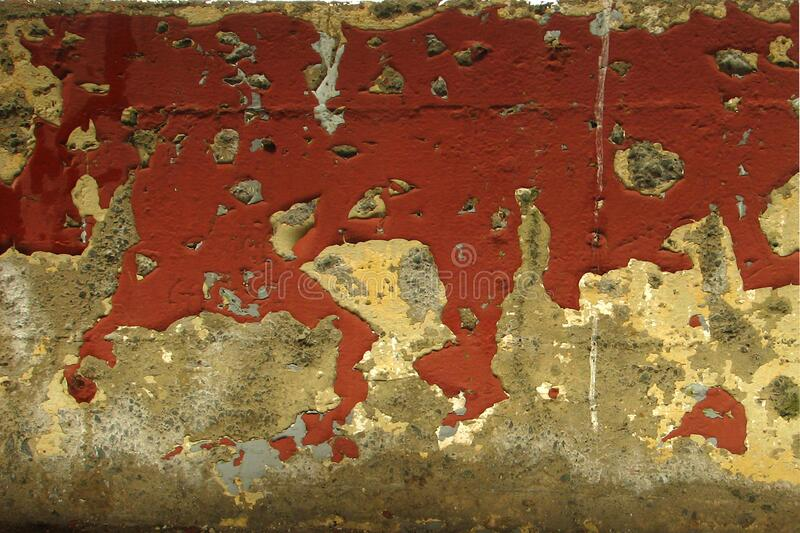 wall with peeling paint royalty free stock images