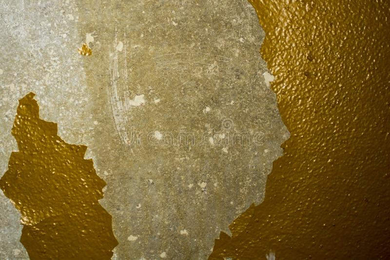 Wall with peeling paint. Abstract background stock photo