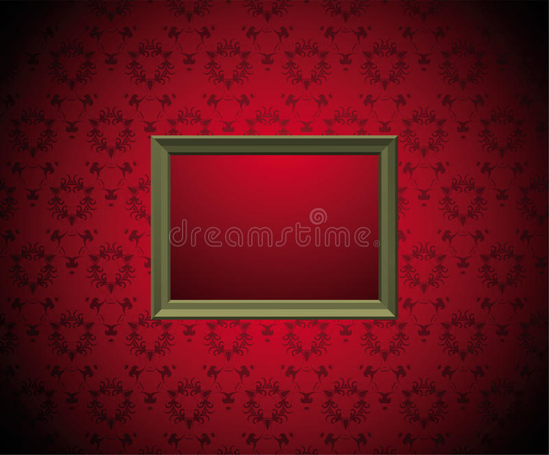Download Wall With  Picture Frame Royalty Free Stock Images - Image: 16849909