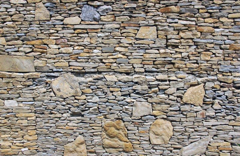 Wall pieces natural rock stone limestone Sandstone texture background light. Rock texture. Exterior element stock photos
