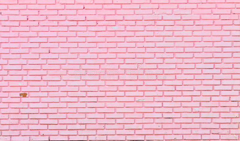 Wall of pink bricks stock photo image of concrete for Uses for a brick
