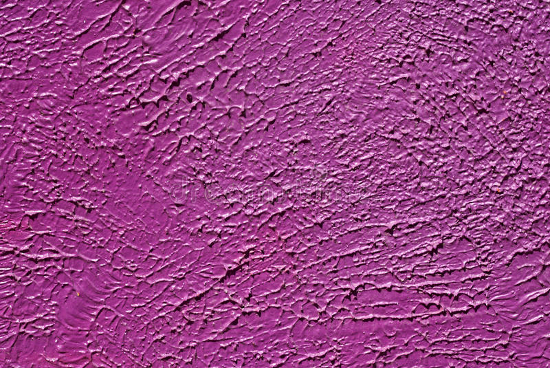 Wall with purple paint pattern paint royalty free stock image