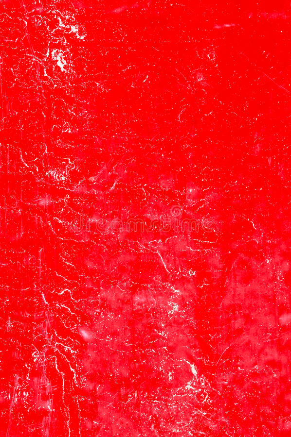 Wall with red weathered paint background stock photography