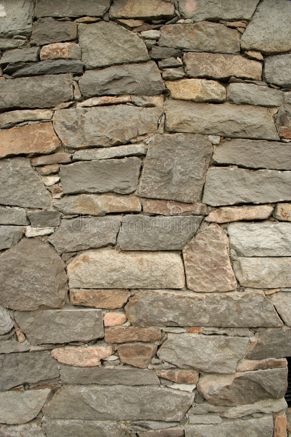 Wall of Rock stock image