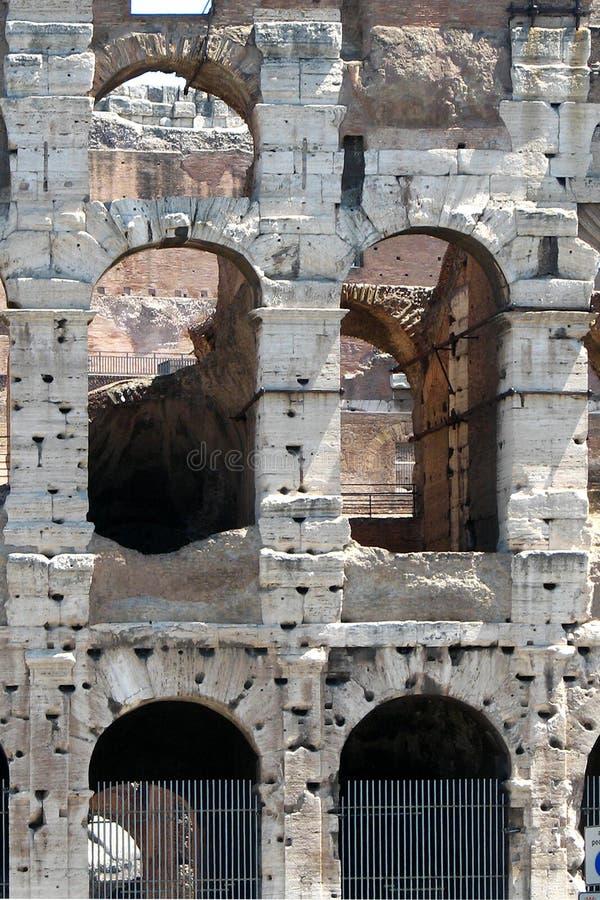 wall, Roman colosseum royalty free stock image