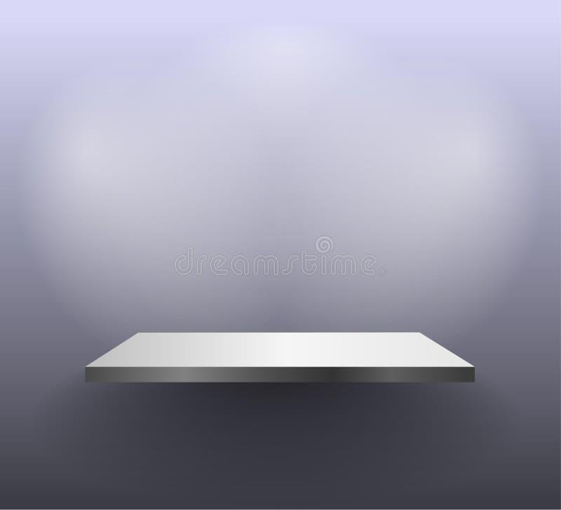 Download Wall shelf stock vector. Image of design, indoor, expo - 25028908