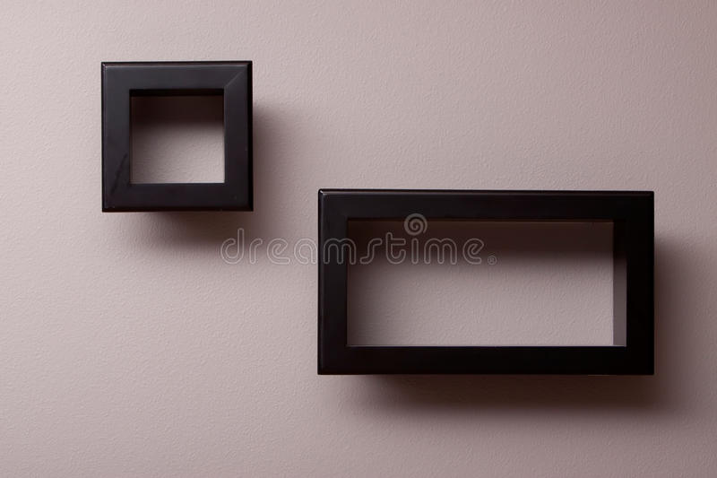 Download Wall shelves stock photo. Image of hanging, shelf, rectangular - 13836552