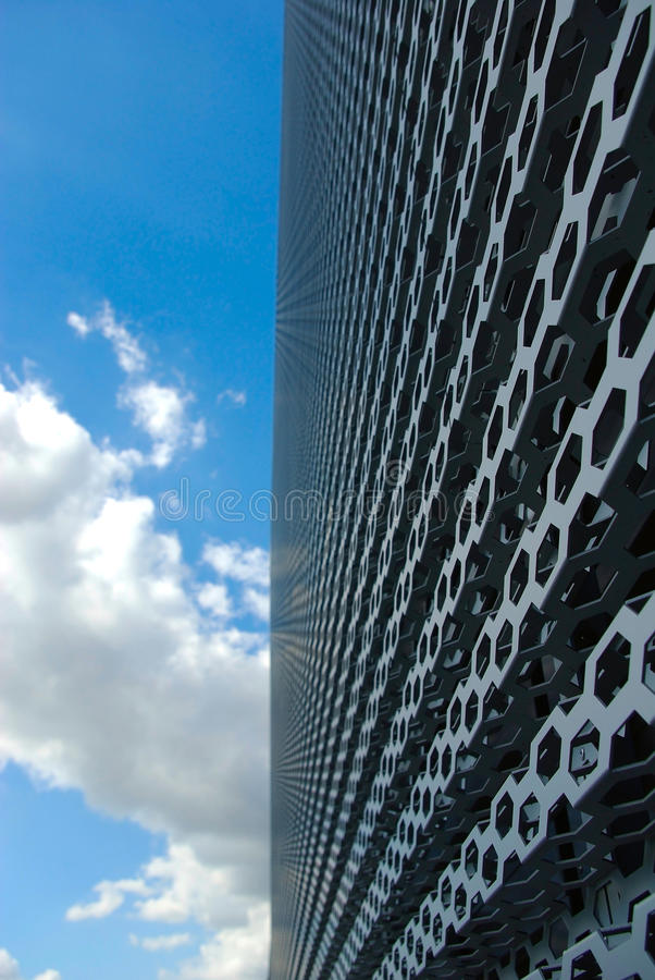 Download Wall and  sky stock photo. Image of city, building, center - 26519946