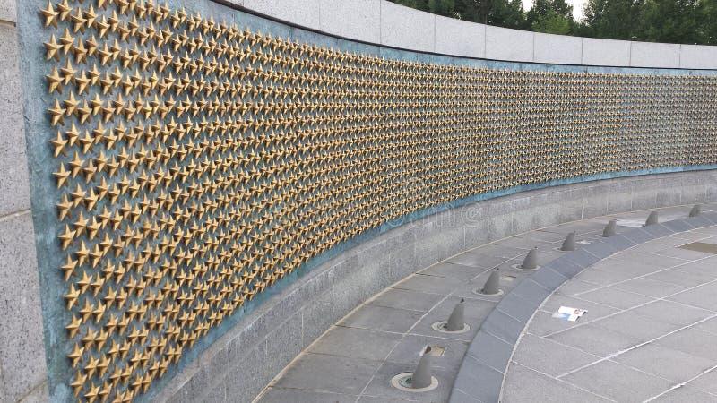 Wall of Stars stock photo