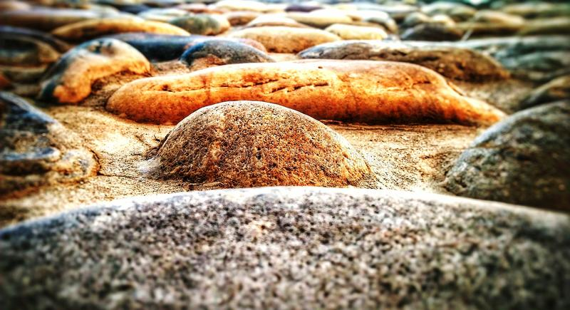 Wall of Stone Abstract closeup royalty free stock photography