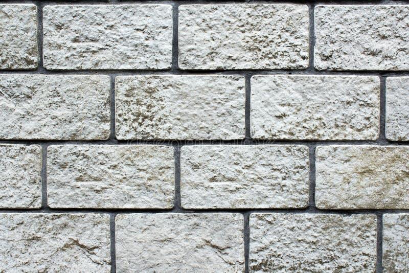 Wall stone bricks stock photography
