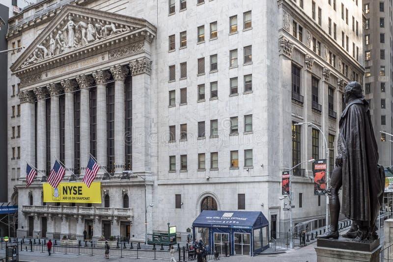 Wall Street zdjęcie stock