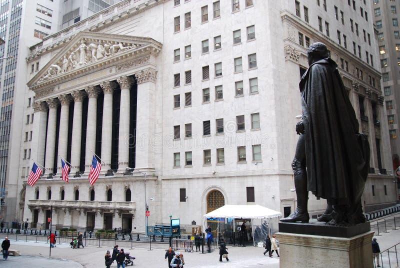 Wall Street photos libres de droits