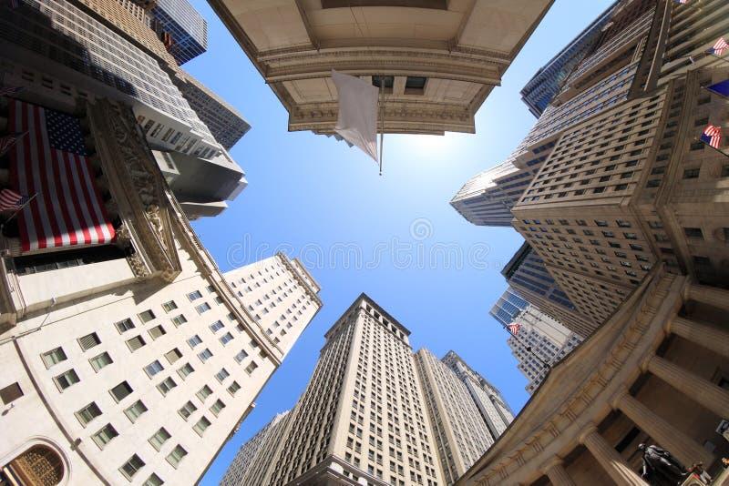Wall Street stock foto