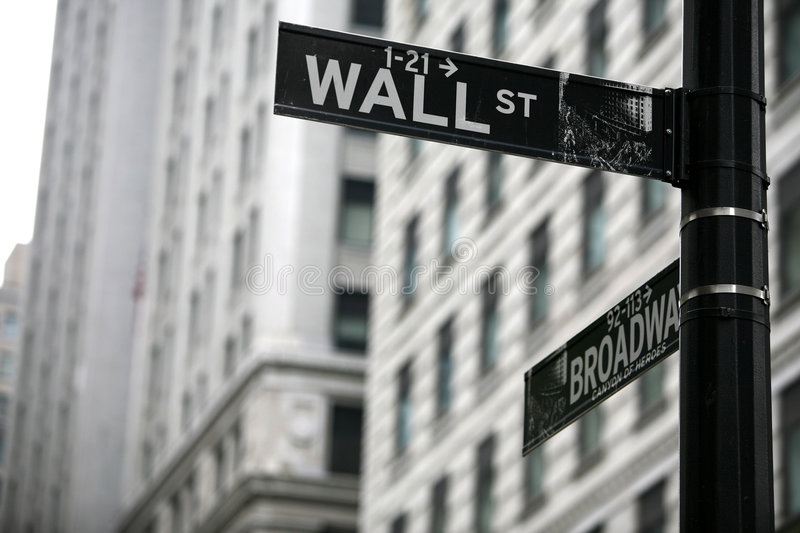 Download Wall street editorial stock photo. Image of wallstreet - 6354493