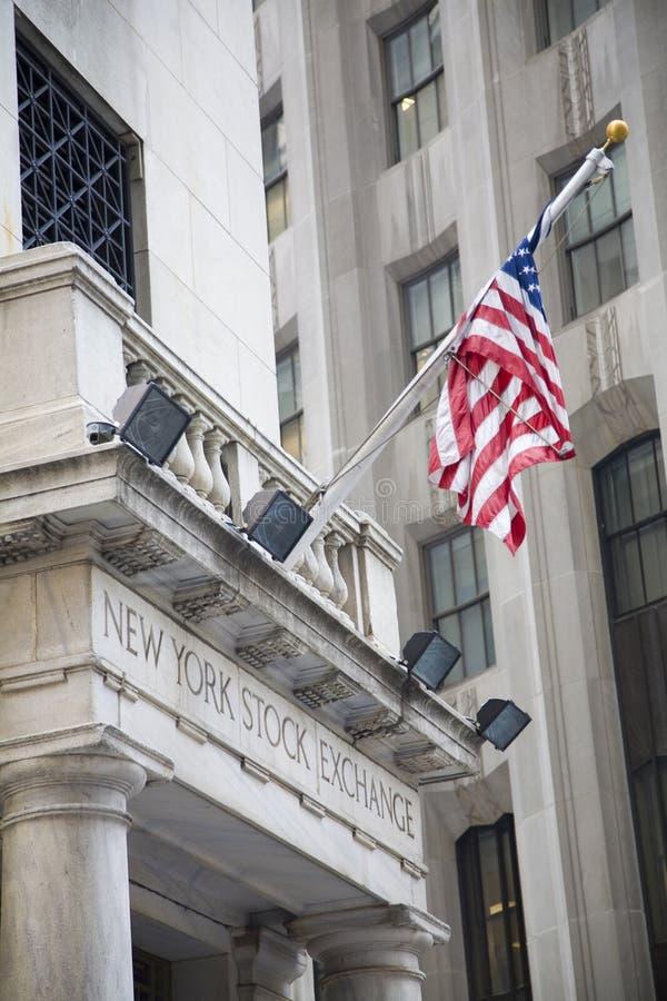 Wall Street royalty free stock photography
