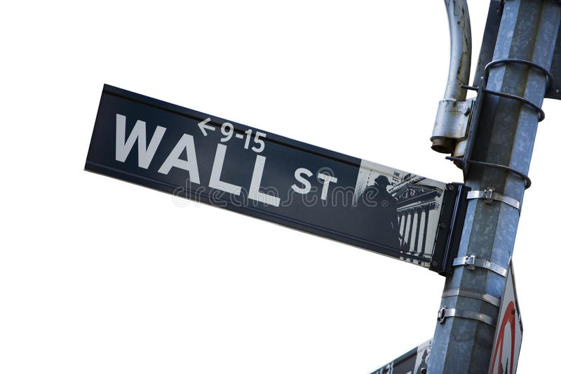 Wall Street stockbild