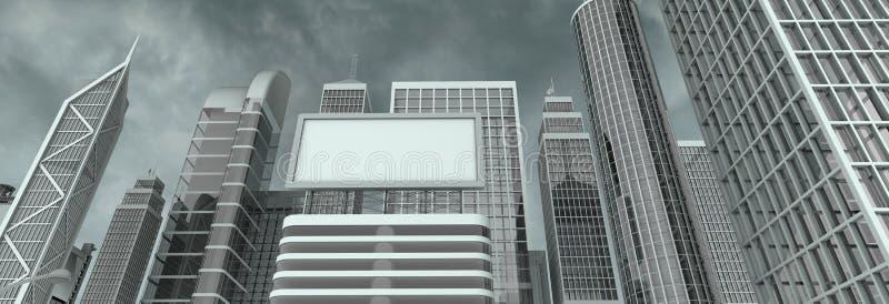 Download Wall street billboard stock illustration. Illustration of financial - 6535505