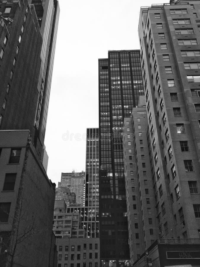 Wall Street - Lower Manhattan photographie stock