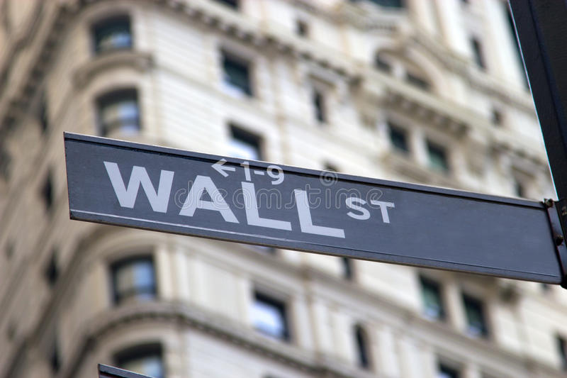 Download Wall Street Sign stock photo. Image of wall, built, urban - 26602944