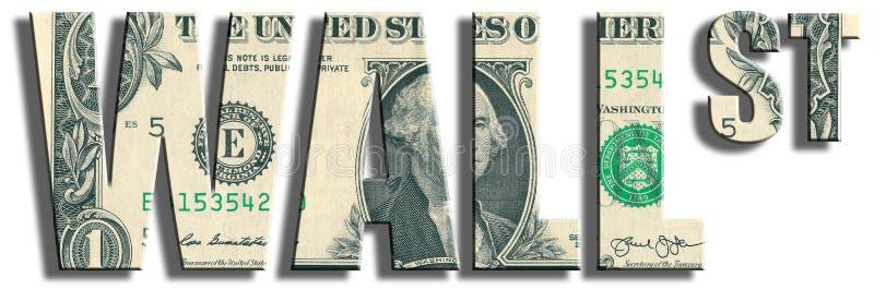 Wall Street Textura del dólar de EE. UU. imagen de archivo libre de regalías