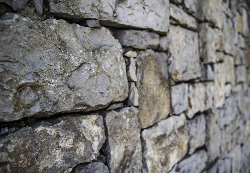 Wall texture in city stock photo
