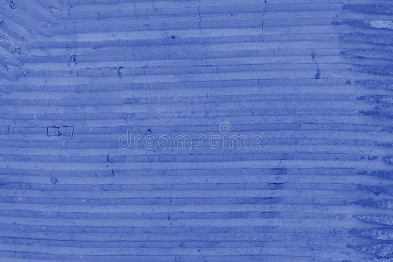 Wall texture grunge background with a lot of copy space for text. Abstract background, blue colors. stock photography