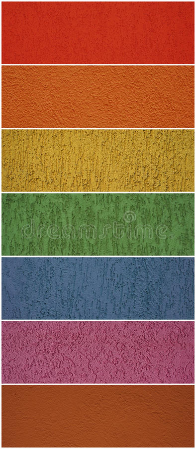 Free Wall Textures, Different Colors Stock Photos - 11361333