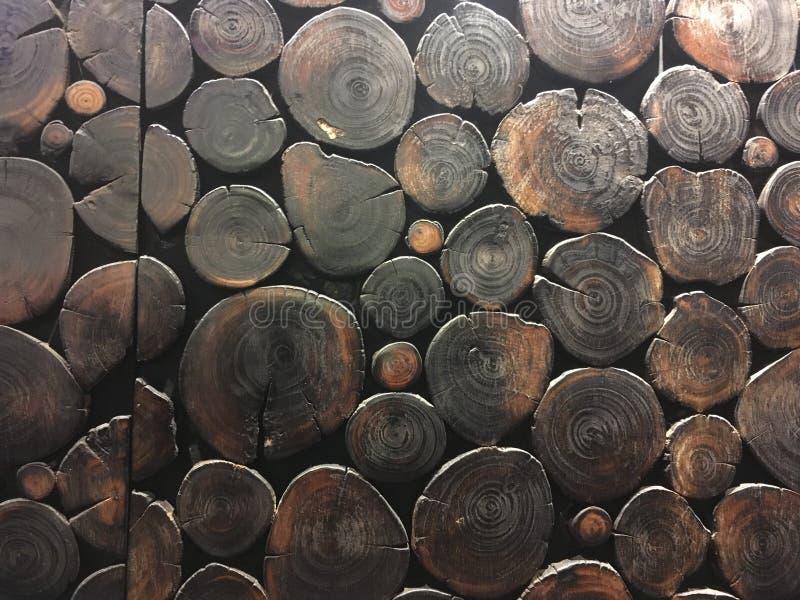 wall trä arkivfoto