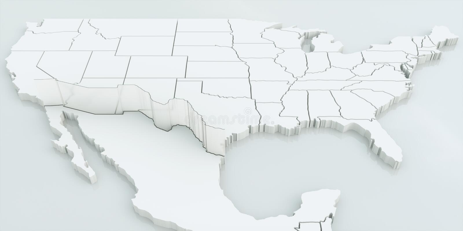 download wall between usa and mexico highly detailed 3d rendering stock illustration illustration of