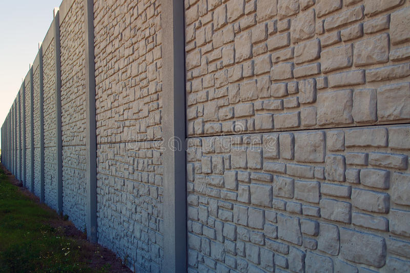 Wall With Vanishing Point Royalty Free Stock Photos