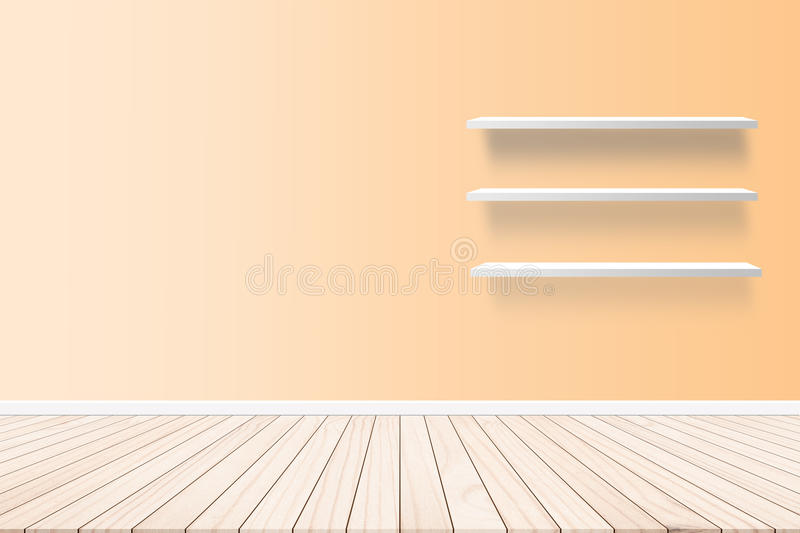 Wall, wallpaper, wall paper inside residential buildings. On the floor plank parquet style abstract concept. royalty free stock images
