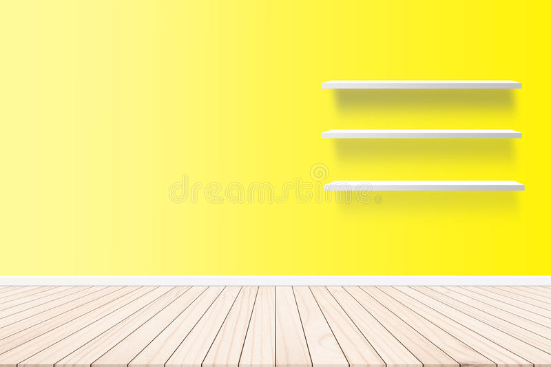 Wall, wallpaper, wall paper inside residential buildings. On the floor plank parquet style abstract concept. royalty free stock image