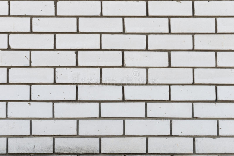 Calcium Silicate Brick Chipped : Wall of white silicate bricks stock photo image