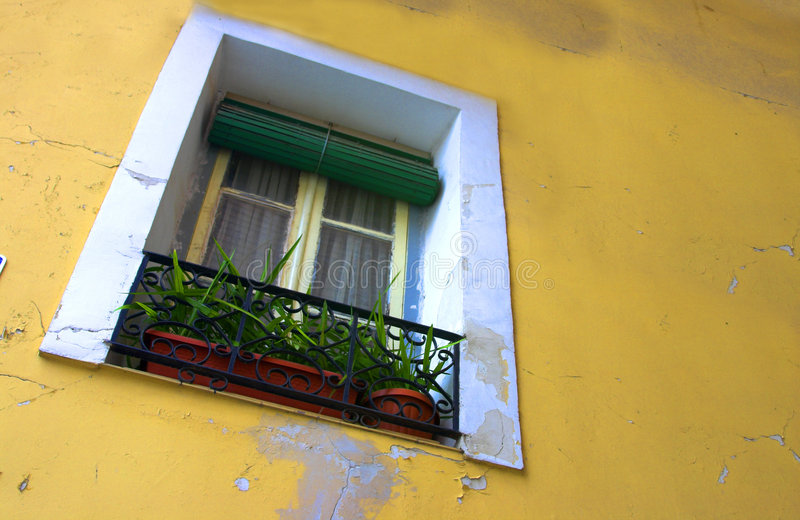 Wall and window stock images