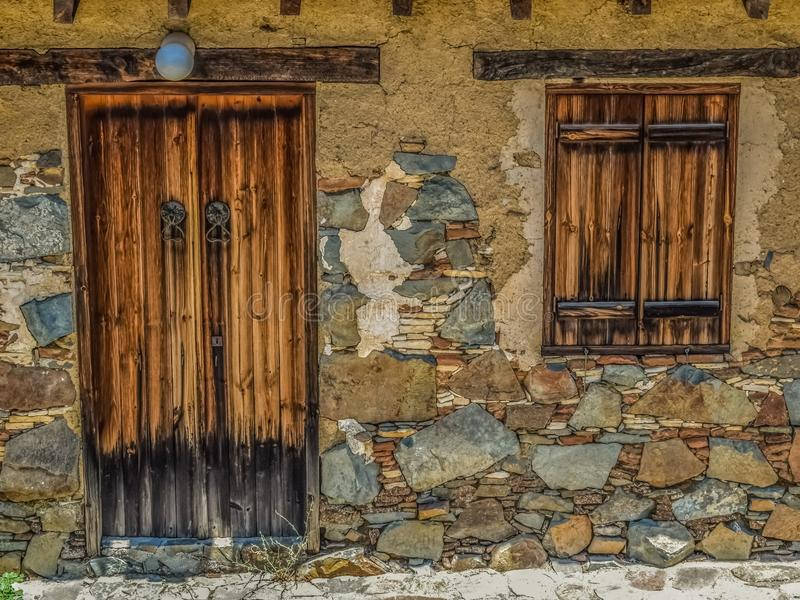 Wall, Window, Stone Wall, Facade royalty free stock image
