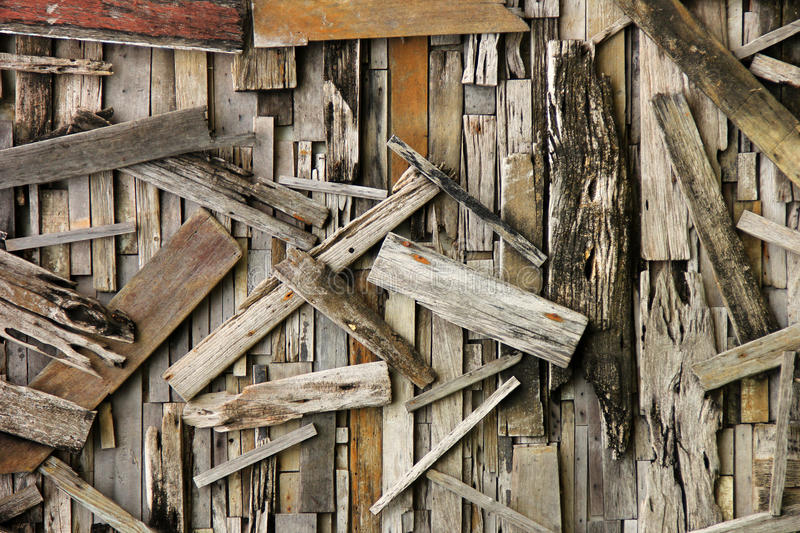 Wall wood boards royalty free stock photos