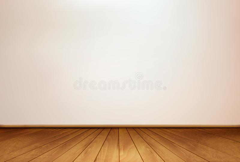 Download Wall And A Wooden Floor. Vector. Stock Images - Image: 32473864