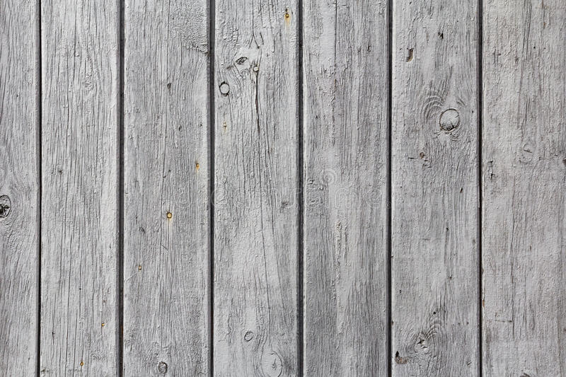 Wall wooden planks painted white grey. The wall of wooden planks painted in white or gey royalty free stock image