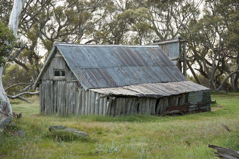 Wallace Hut stock photo