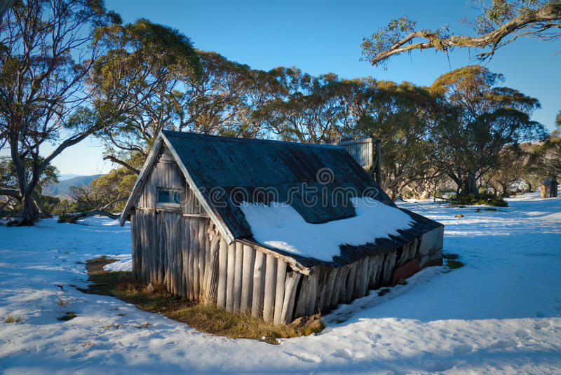 Wallace's Hut royalty free stock images