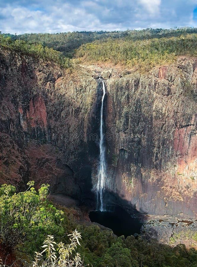 Free Wallaman Falls Australia& X27;s Highest Permanent Single Drop Waterfall Stock Photos - 133772103