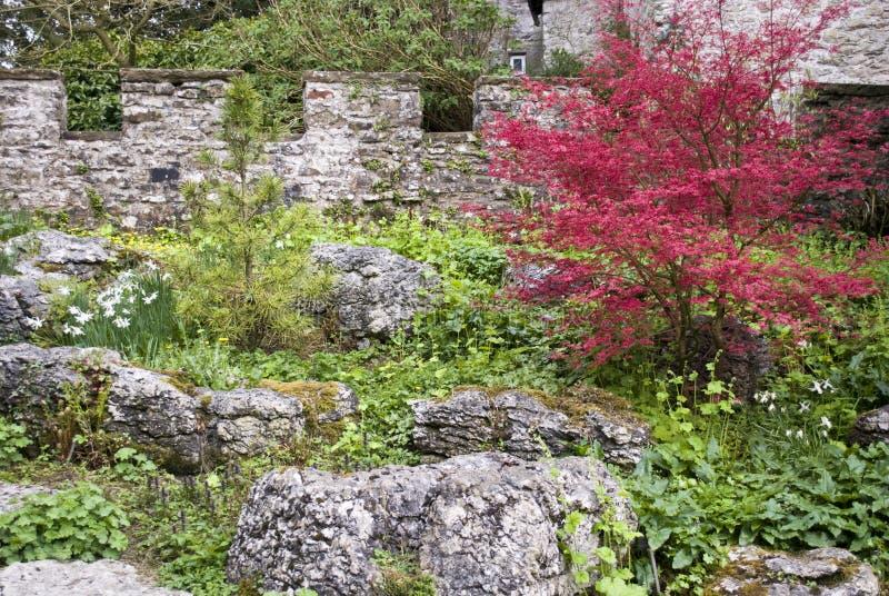 Walled Garden Stock Image