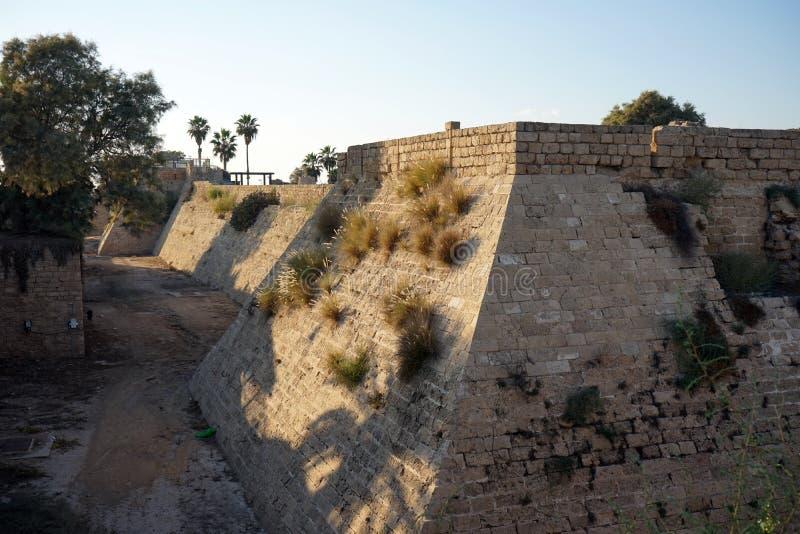 walled stad arkivbilder