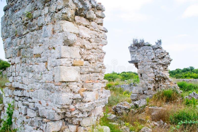 walled stad kalkon Sidostad arkivfoto